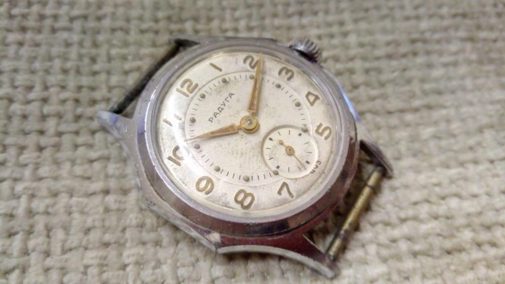 Les montres soviétiques radioactives B38