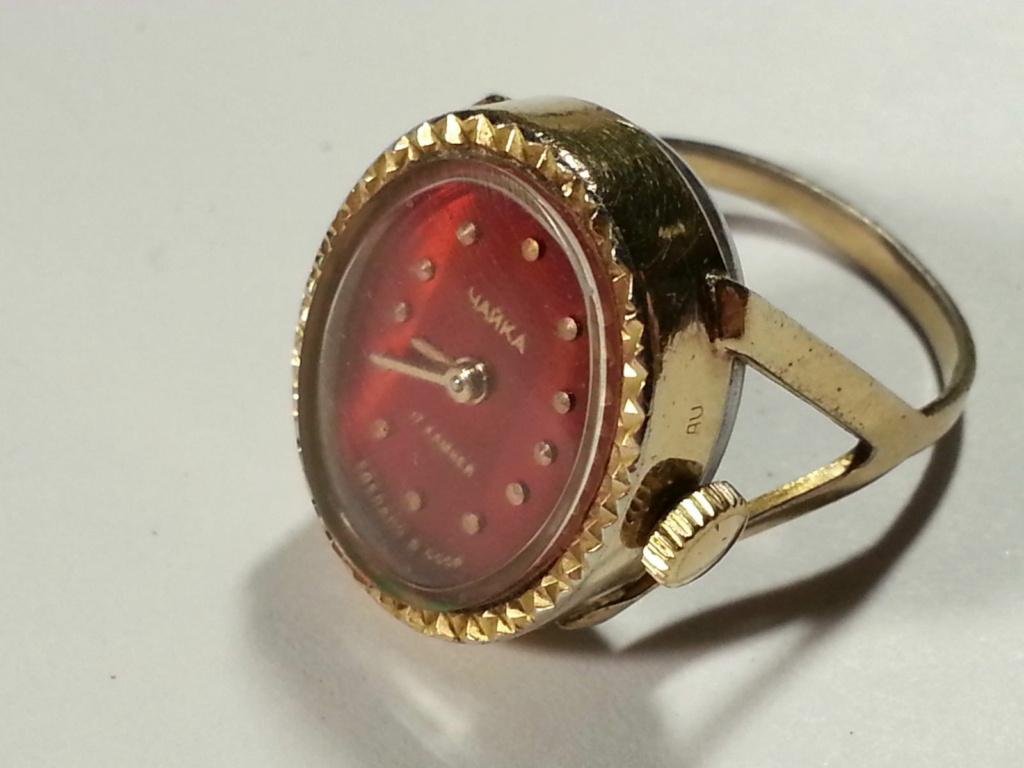 Bague horlogère Chaïka Bague110