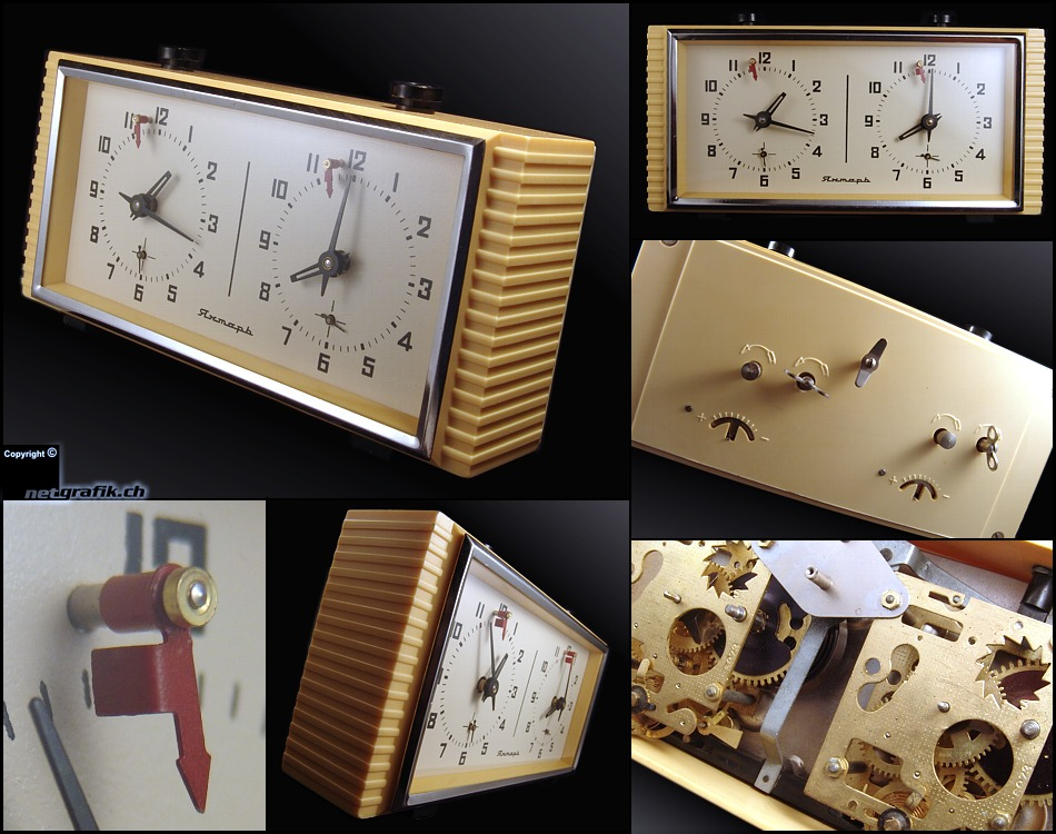 Horloge d'échecs Yantar Chess-10