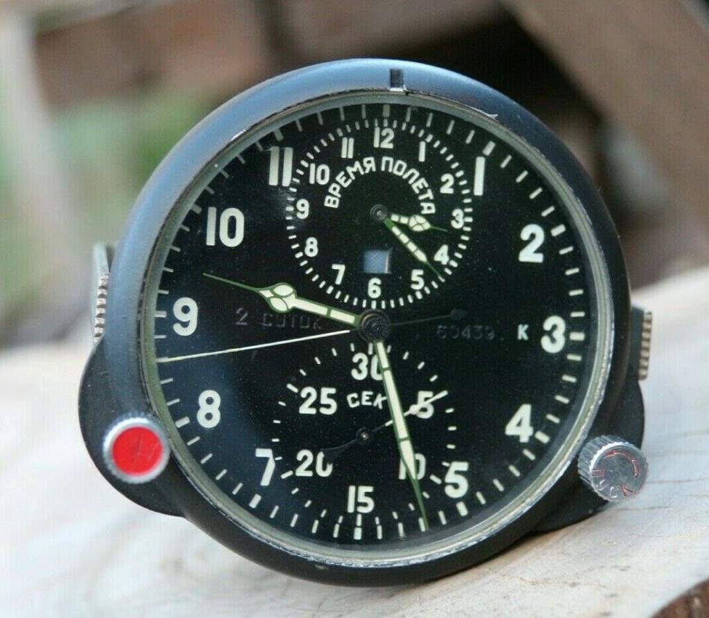Une horloge technique 60ЧП Cockpi10