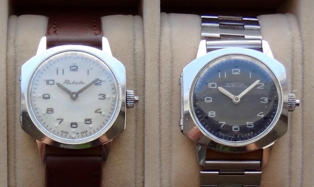 Les montres soviétiques pour aveugles D110