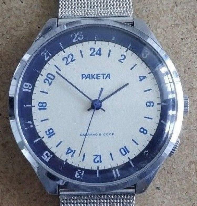 Les Raketa 24 heures soviétiques (1ère partie: Les 2623 et les 2623.H classiques) Dualch10