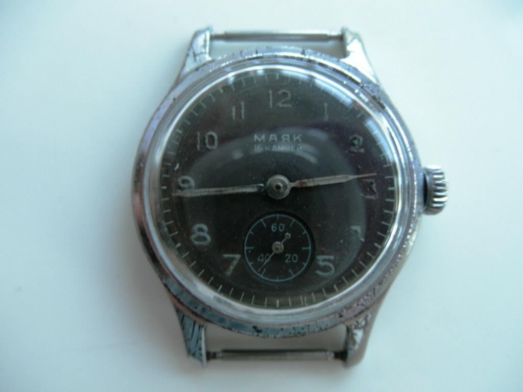 Les montres soviétiques radioactives E15