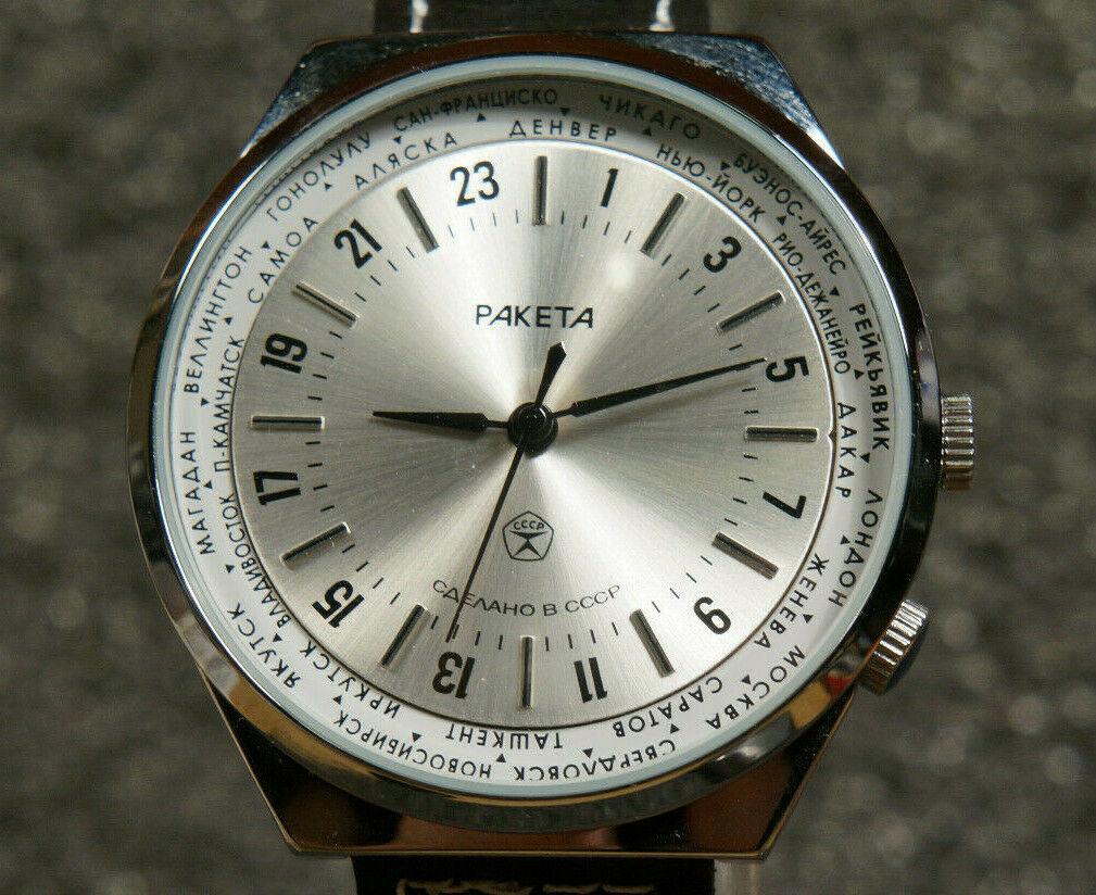 Les Raketa 24 heures soviétiques (1ère partie: Les 2623 et les 2623.H classiques) Fake_a10