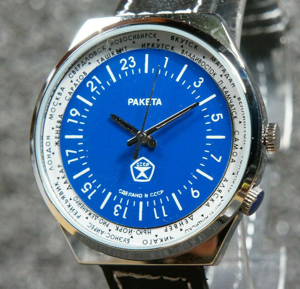 Les Raketa 24 heures soviétiques (1ère partie: Les 2623 et les 2623.H classiques) Fakebl10