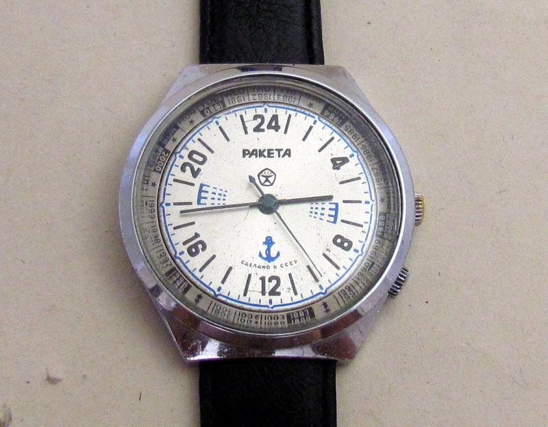 Les Raketa 24 heures soviétiques (1ère partie: Les 2623 et les 2623.H classiques) Franke10
