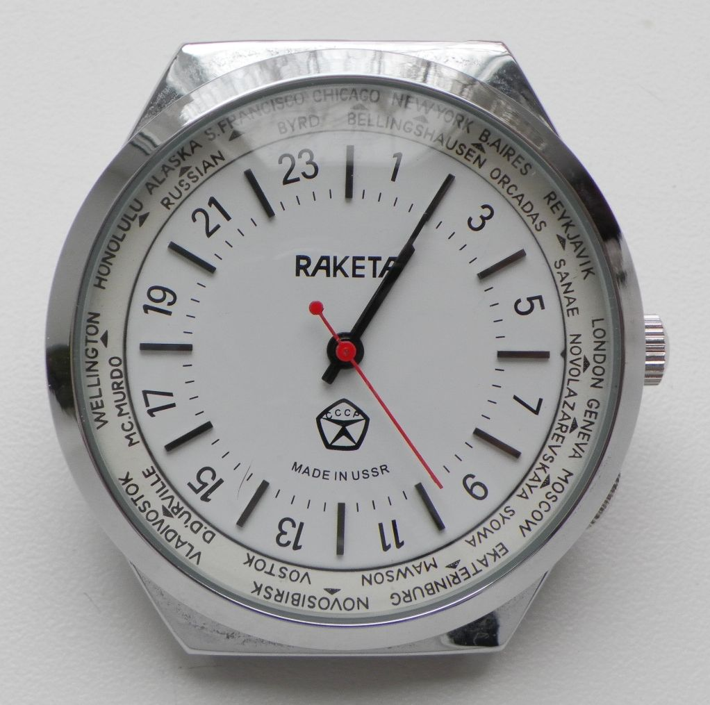 Les Raketa 24 heures soviétiques (1ère partie: Les 2623 et les 2623.H classiques) Franke12