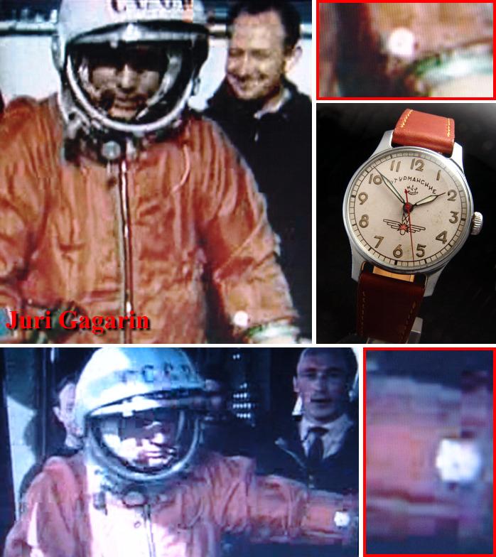 "Bracelets historiquement corrects pour Sturmanskie ""Gagarin"" ? Gagari10"
