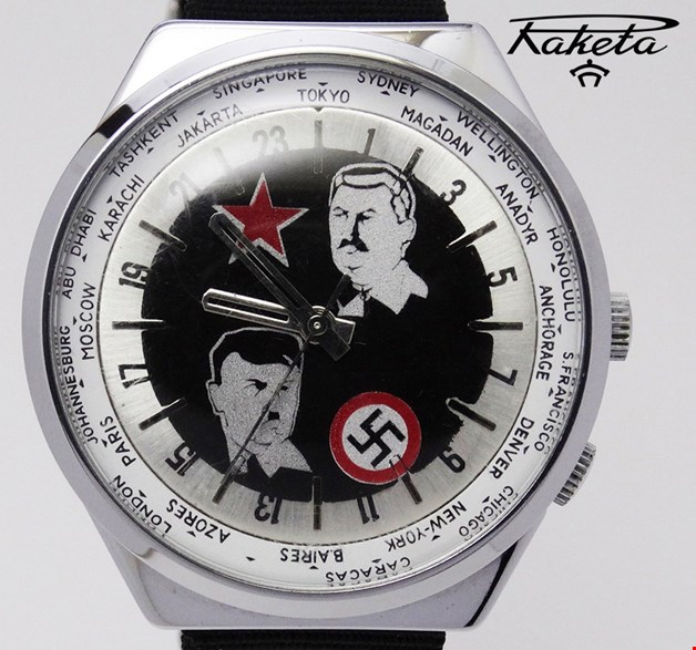 Les Raketa 24 heures soviétiques (2e partie: Les 2623.H spéciales) Hitler10