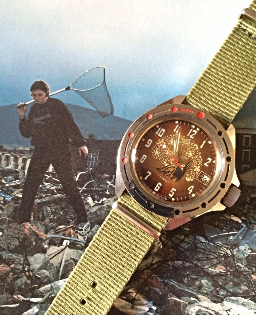 Vostok anniversaire 1917-1987 It10