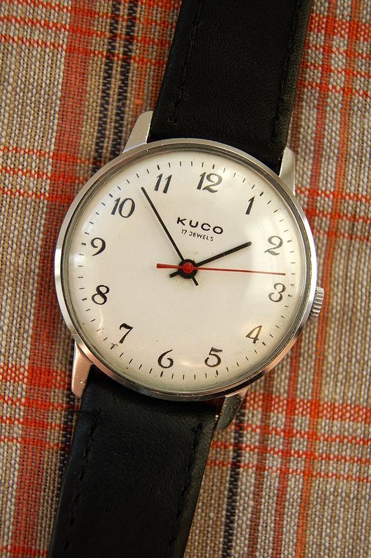 Kuco, Corsar: La distribution des montres soviétiques en Allemagne Kugo10