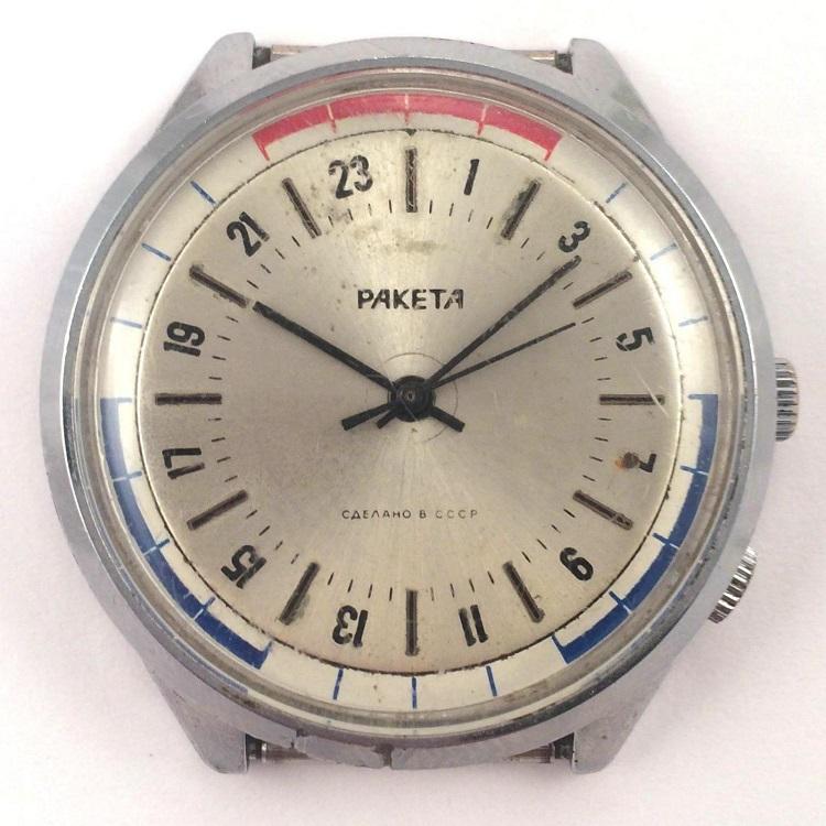 Les Raketa 24 heures soviétiques (1ère partie: Les 2623 et les 2623.H classiques) Marine13