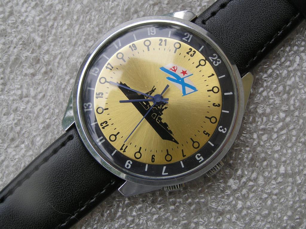 Les Raketa 24 heures soviétiques (2e partie: Les 2623.H spéciales) Navire10