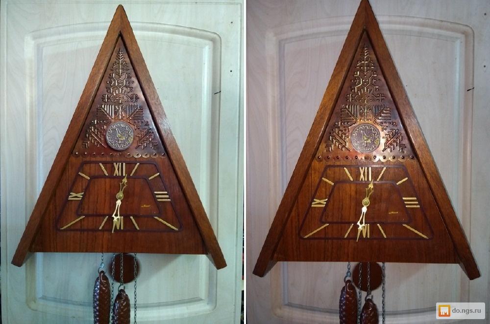 Horloge de table Voskhod et petite histoire de la Fabrique d'Horloges de Serdobsk Oi10
