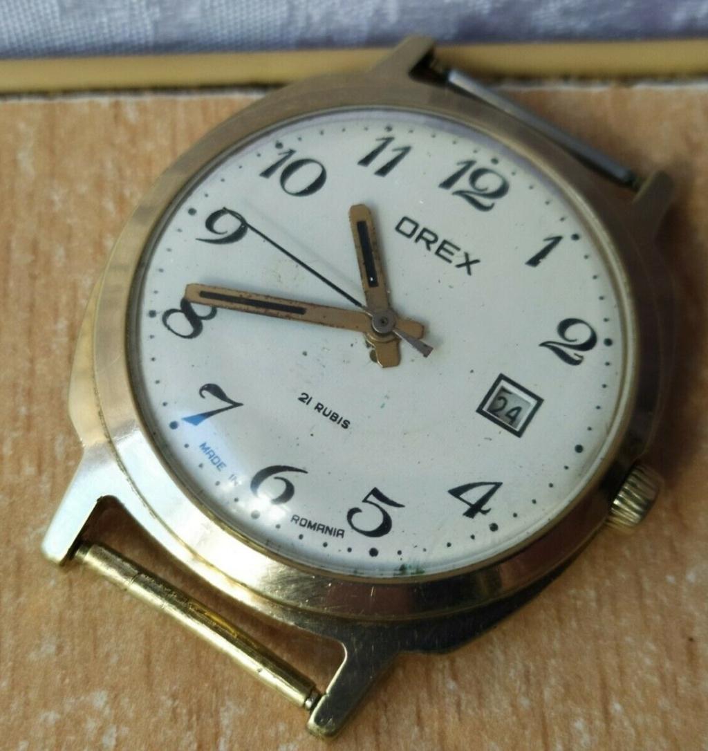 Des montres soviéto-roumaines: les OREX Orex1a10
