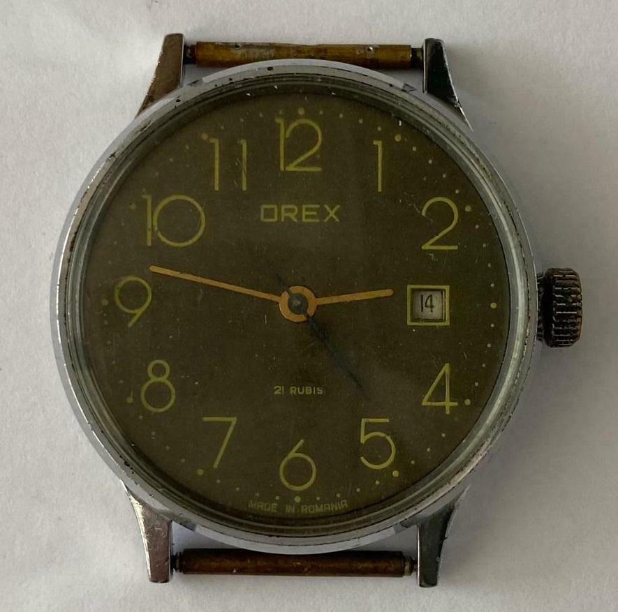 Des montres soviéto-roumaines: les OREX Orex2a10