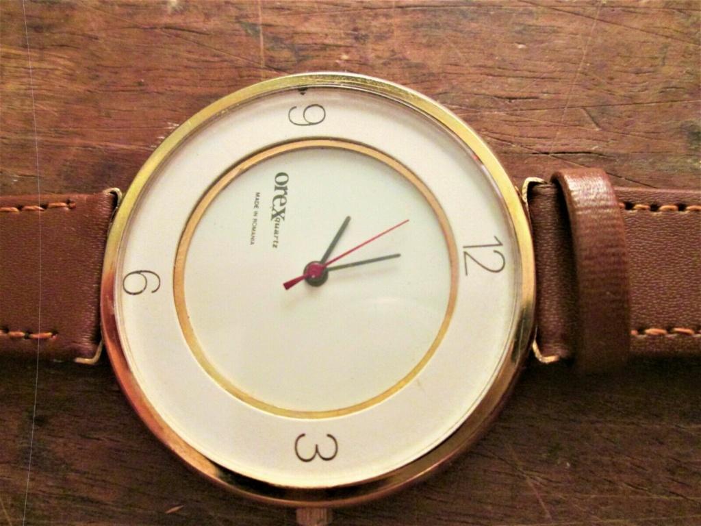 Des montres soviéto-roumaines: les OREX Orex3a10