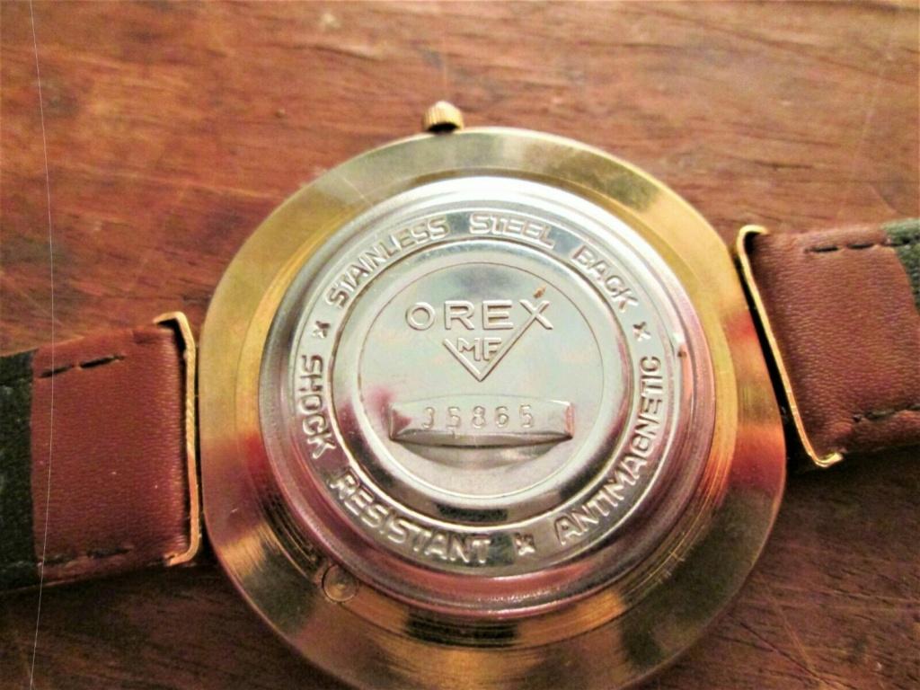 Des montres soviéto-roumaines: les OREX Orex3b10