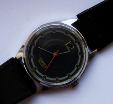 Des montres soviéto-roumaines: les OREX Orex4a10