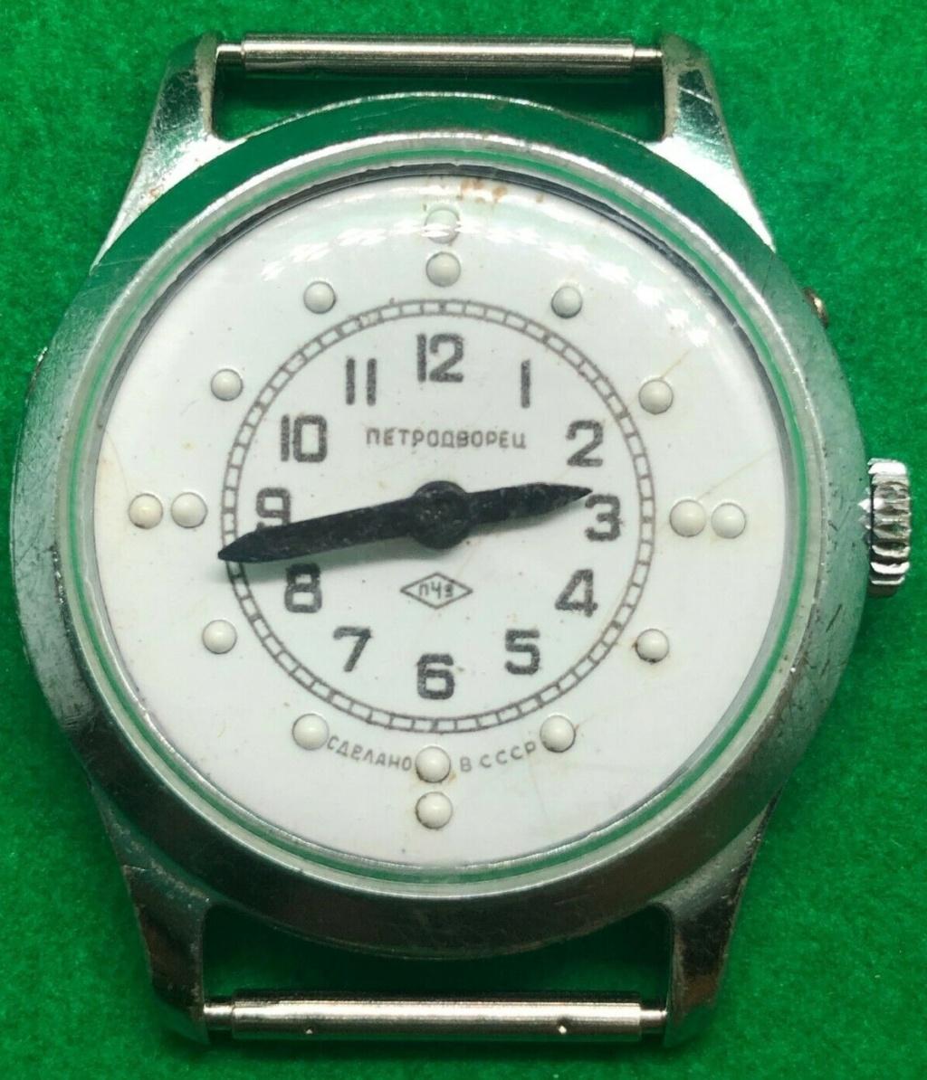 Les montres soviétiques pour aveugles Petro210