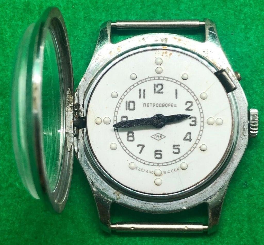 Les montres soviétiques pour aveugles Petro211