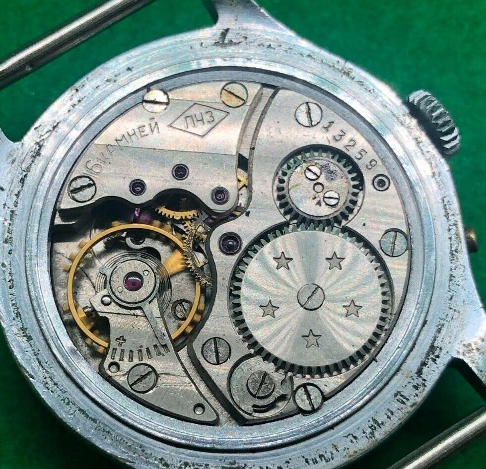 Les montres soviétiques pour aveugles Petro212