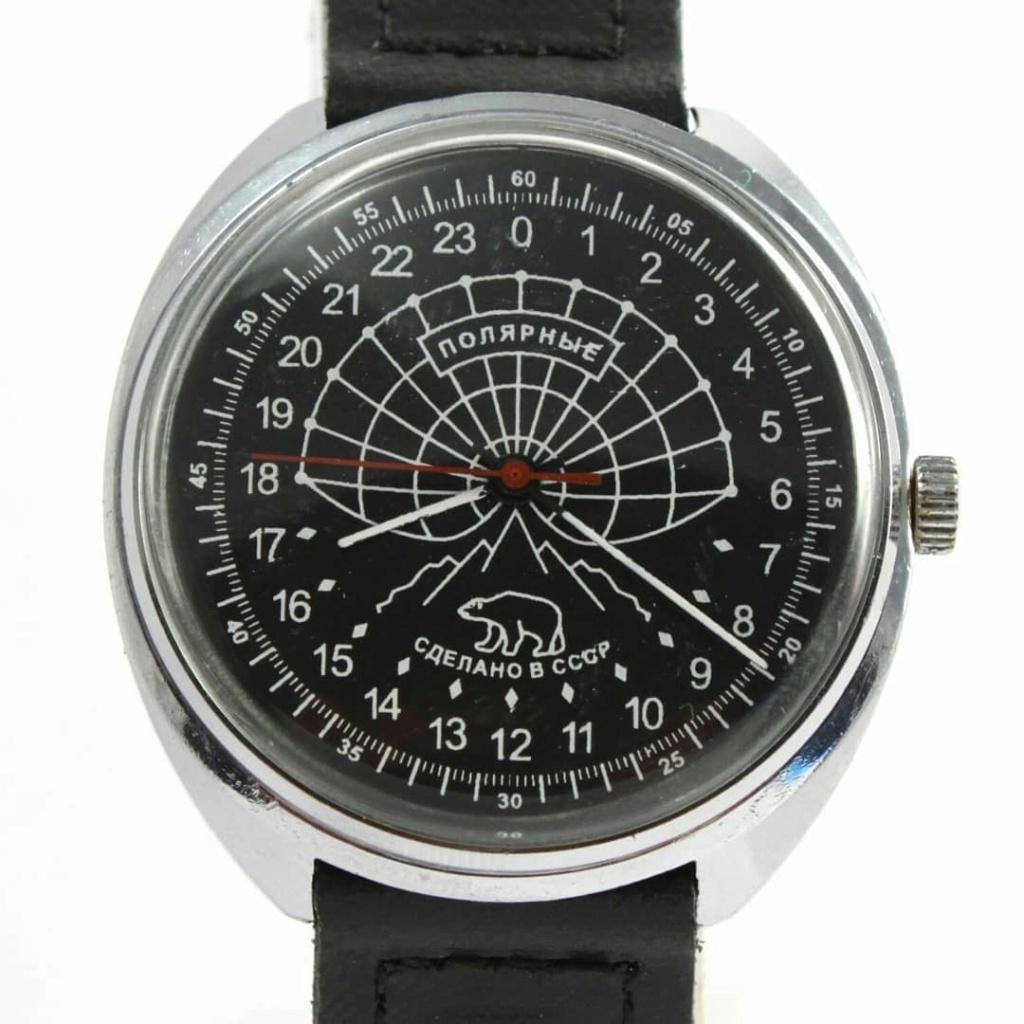 Les Raketa 24 heures soviétiques (1ère partie: Les 2623 et les 2623.H classiques) Polarn10