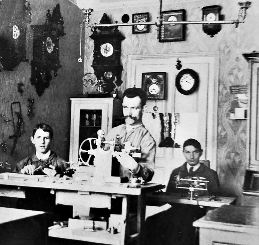 """Vladimir """"Wolf"""" Pruss, pionnier de l'horlogerie soviétique (2e partie)  Pruss210"""