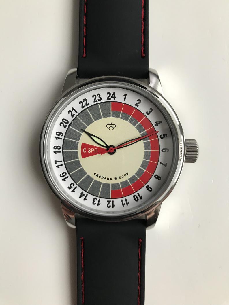 Les Raketa 24 heures soviétiques (2e partie: Les 2623.H spéciales) Rivier10