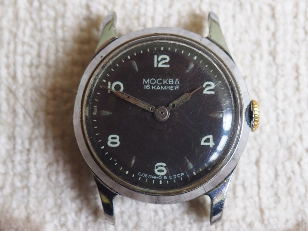 Les montres soviétiques radioactives S-l16058