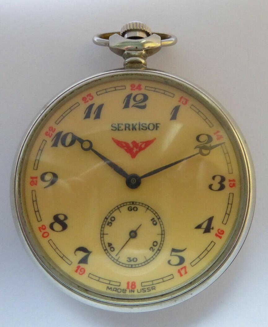 Les Serkisof: des montres soviétiques en Turquie S-l16100
