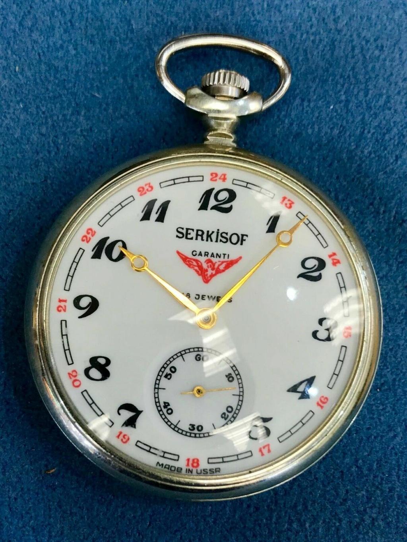 Les Serkisof: des montres soviétiques en Turquie S-l16101