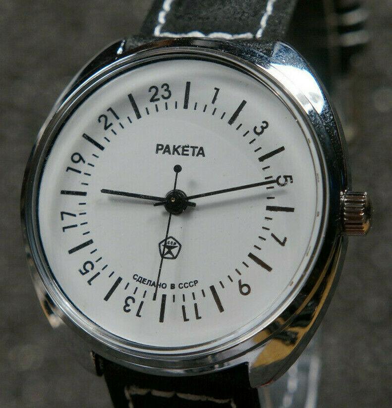 Les Raketa 24 heures soviétiques (1ère partie: Les 2623 et les 2623.H classiques) Sanslu10