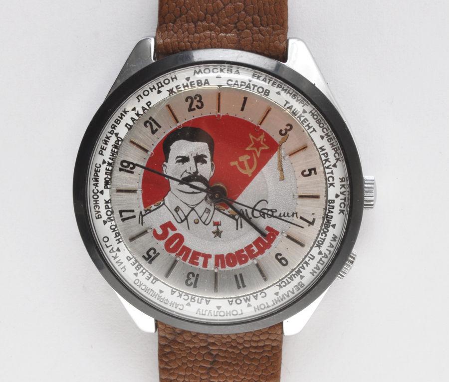 Les Raketa 24 heures soviétiques (2e partie: Les 2623.H spéciales) Stalin10