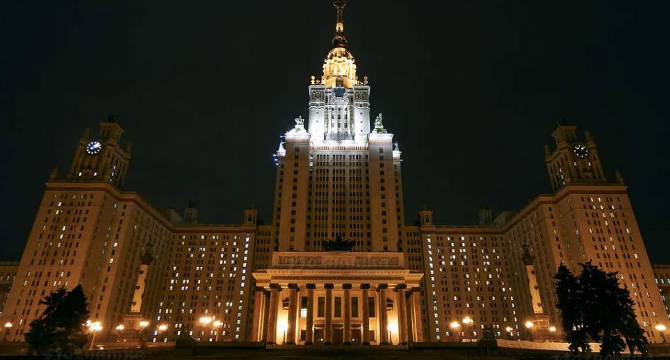 Les horloges de l'Université Lomonossov Stalin12