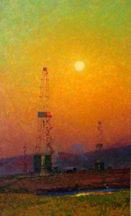 "Vostok Kadet ""Tatneft"" Sunset10"