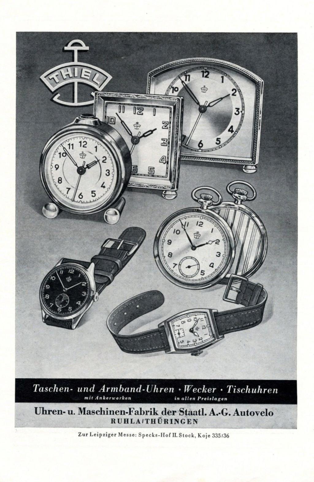 Des montres allemandes pour l'URSS Thiel110