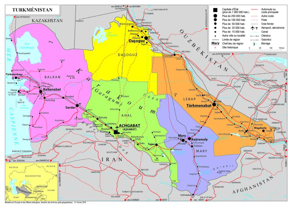 """Luch """"60 ans du PC du Turkménistan et de la RSS du Turkménistan"""" Turkme10"""