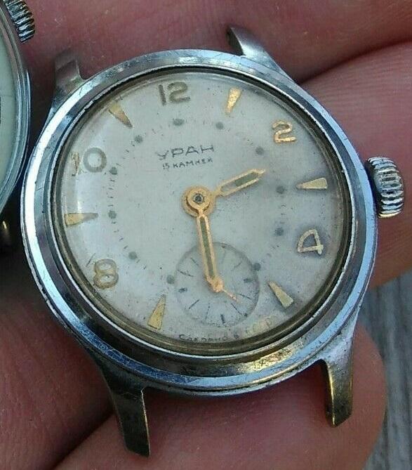 Les montres soviétiques radioactives Uran2b10