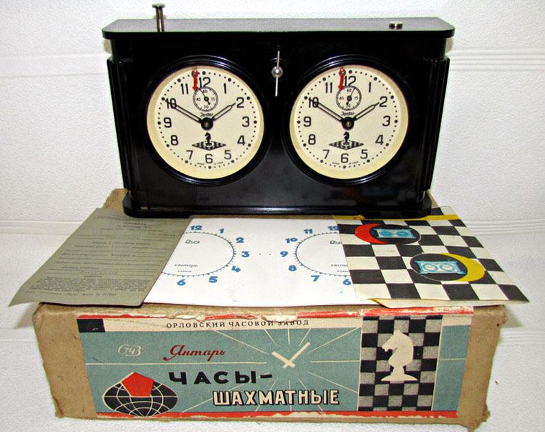 Petite histoire de la Fabrique d'horloges d'Orel V799110