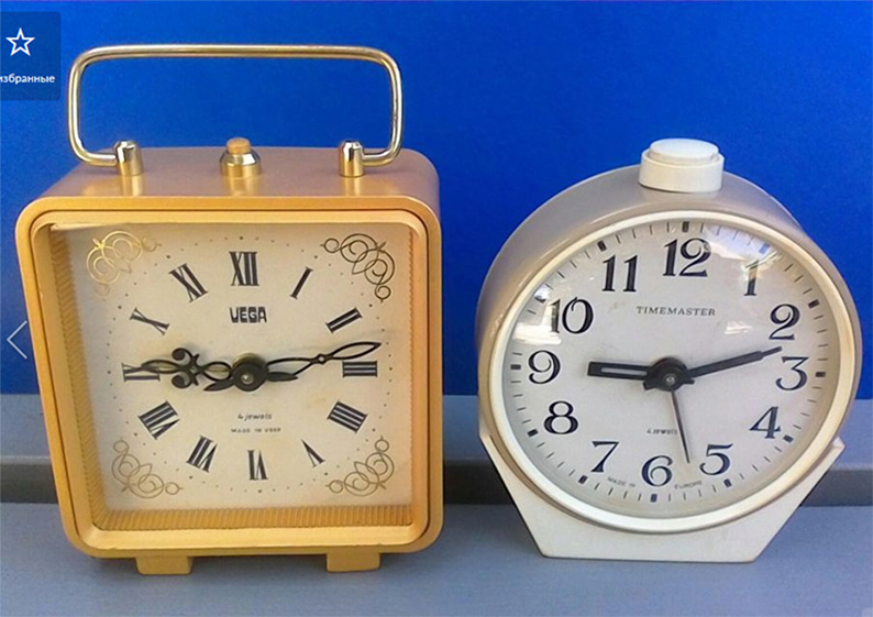 Petite histoire de la Fabrique d'horloges d'Orel Vega11