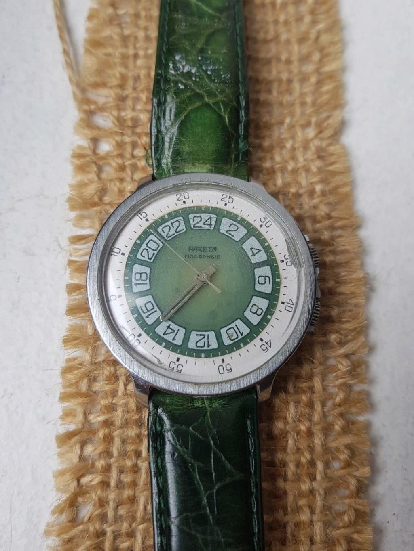 Les Raketa 24 heures soviétiques (1ère partie: Les 2623 et les 2623.H classiques) Verte10