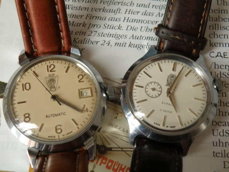 Kuco, Corsar: La distribution des montres soviétiques en Allemagne Vostok14