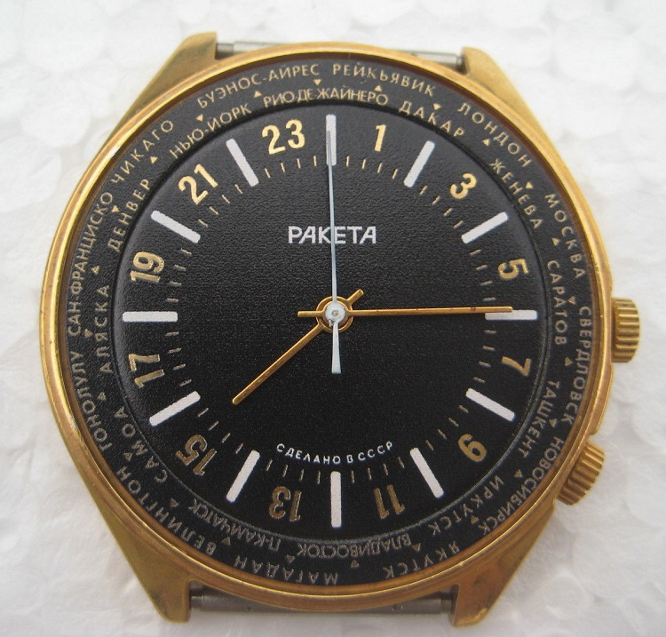 Les Raketa 24 heures soviétiques (1ère partie: Les 2623 et les 2623.H classiques) Worldn10