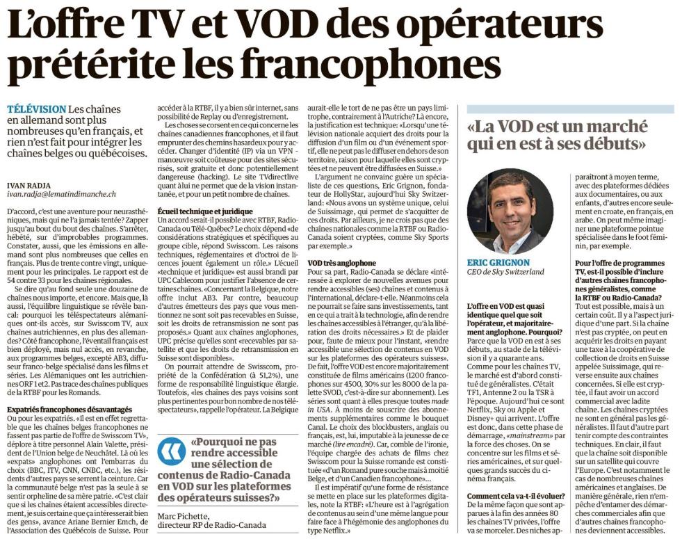 L'offre TV et VOD des opérateurs prétérite les francophones Tvvpdf12