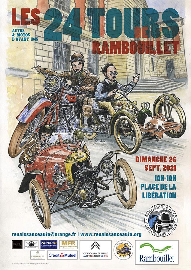 Les 24 Tours de Rambouillet, 26 septembre 2021 Aff_2411