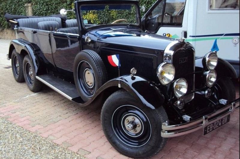 Citroën 6 roues 1930 B6874410