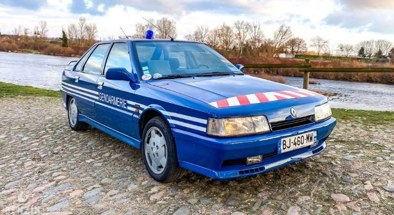 R21 turbo gendarmerie Bb1cxm10