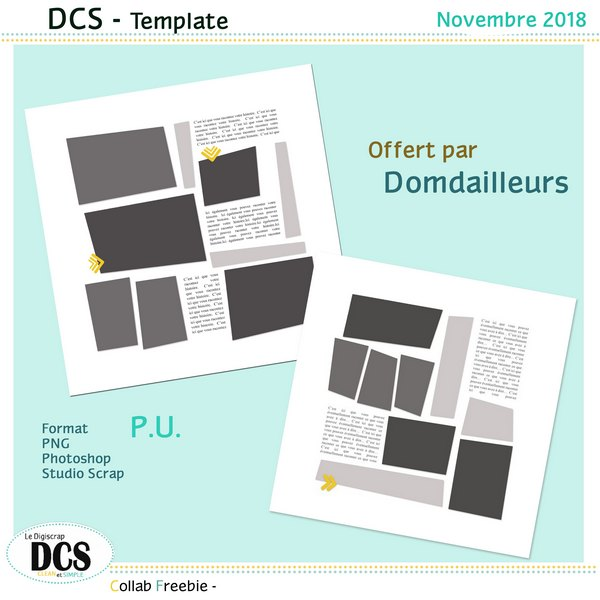 Quelques templates multiphotos