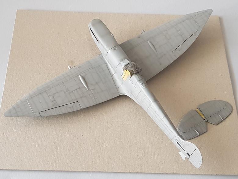 Spitfire Mk.VIII HF Eduard 1/48 2019-020